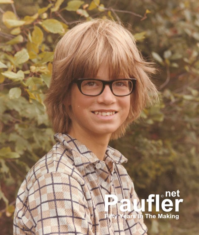 Brett Paufler circa 1976 at Summer Camp - Forget the Name of the Place